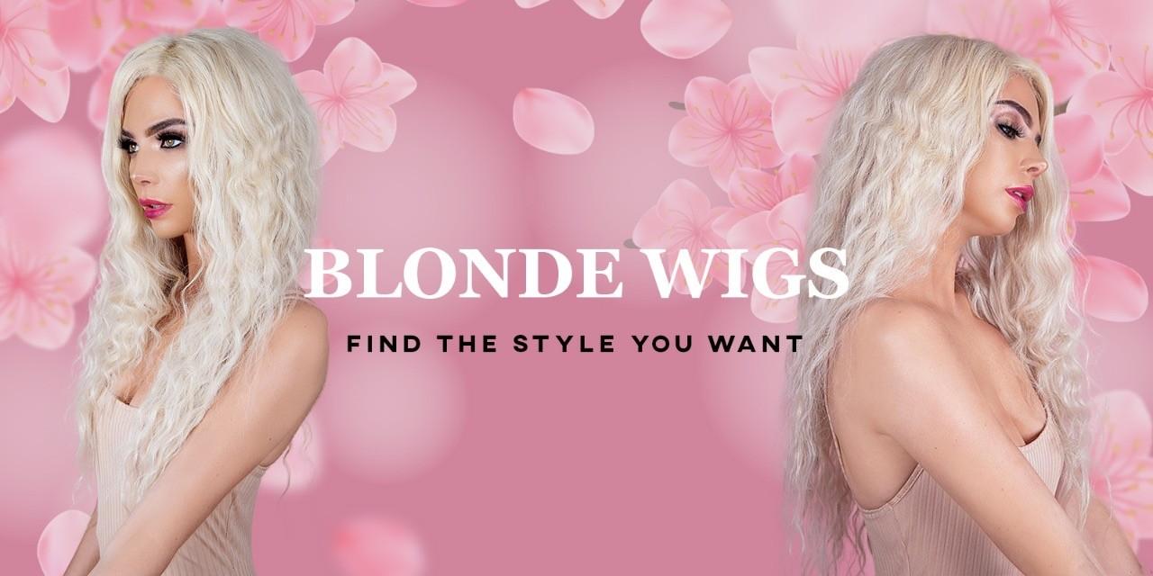 Blonde-wigs
