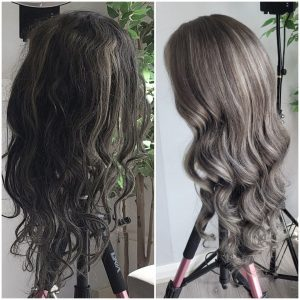 before after eternal wig